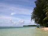 リゾート前の海2