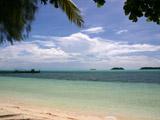リゾート前の海3